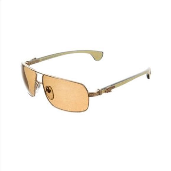a618c9ede8a7  Chrome Hearts Moorehead  Aviator Sunglasses